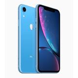 iPhone Xr Azul 64gb Apple Garantia Nota Fiscal Desbloqueado
