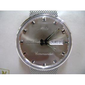 Reloj Mido Commander Original Automático De Acero