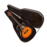 Guitarra Electroacústica Epic Thin Delgada Con Case