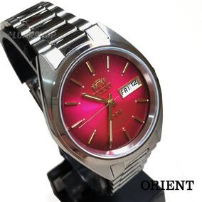 92c77745845 Relógio Orient Automatico Masculino Retro Vermelho Original
