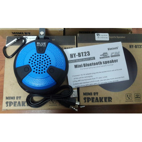 Corneta Speaker Mini Bt23 Sport Con Bluetooth