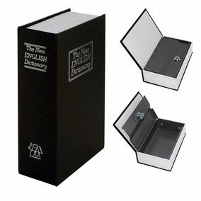 Cofre Livro Camuflado Formato Dicionário Inglês Porta Joias.