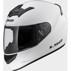 Casco Cerrado Rookie Blanco Solido Ff352 Rider One