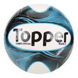 Bola De Futebol Oficial Campo Topper Slick Ii Azul