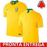 Camisa Brasil Copa 2018 Jogador - Camisa Brasil Masculina no Mercado ... d4781fec35de2
