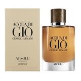 Perfume Hombre Acqua Di Gio Homme Absolu Edp 75ml
