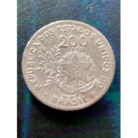 Moeda Antiga Rara 200 Réis De 1901 Mcmi