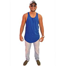 Regata Long Line Masculina - Camisetas Regatas para Masculino no ... 1531adc8da2