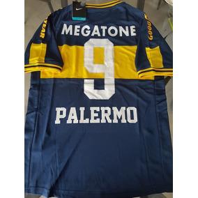 Camiseta Boca Juniors 2007 Original Retro Palermo Megatone