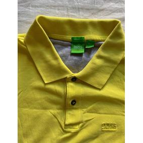 Usado - São Paulo · Camisa Polo Hugo Boss Amarela Xl Modern Fit - Usado 5e7d657ee17d9