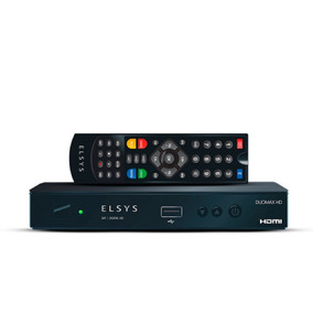 Receptor Analogico E Digital Hd Duomax Hd Etrs43 Elsys