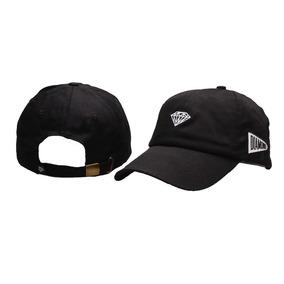 Boné Diamond Aba Curva 6 Panel Dad Hat - Envio Imediato