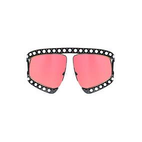 Lente De Sol Estilo Gucci Color Rojo, Glasses G3, Pop8106