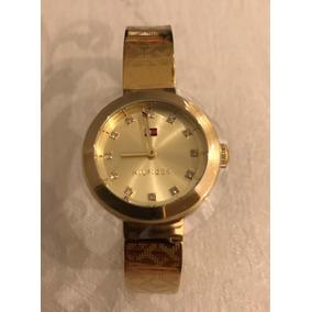 Relógio Thommy Hilfiger Feminino Aço Dourado