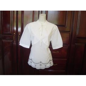 Limpia De Closet Blusa De Maternidad Color Blanco Con Negro f96bce15117e2