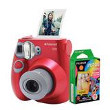 0af5e60b8b808 Câmera Polaroid Instantânea Pic 300 Verm. C  Filme 10 Poses