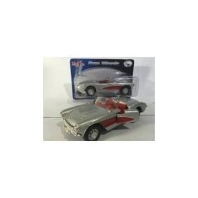 Miniatura Metal Maisto Chevrolet Corvette 1957