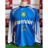 Camisa Palmeiras Marcos Nº 12 Retro Histórica Frete Grátis
