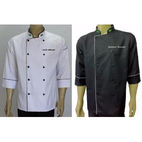 6232998d14 Kit 2 Dolmas Bordados Gastronomia Jaqueta Confeiteiro Chef. R  248. 12x R   23. Frete grátis
