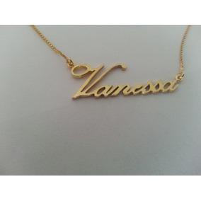 Colar Com Nome Vanessa - Colar Feminino no Mercado Livre Brasil 5060224d3a