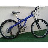 Vendo Bike Caloi Semi Nova Azul.