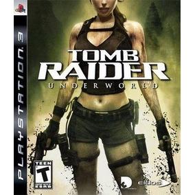 Tomb Raider Underworld - Ps3 Mídia Física