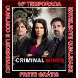 Serie Criminal Minds (14ª Temporada Completa) E Frete Grátis