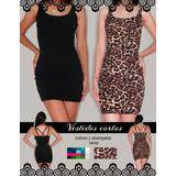 Lenceria Sexy Vestidos Animal Print Y Colores Varios