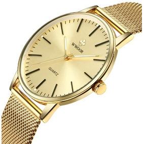 45b1cc2fe8e Relogio Antigos Masculino Slim Quadrado - Relógios De Pulso no ...