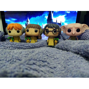 Kit Funko Pop Harry Potter 55+ron 56+hermione 57+dobby 17