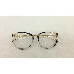 Armacao Oculos De Grau Feminino Redondo Geek Outras Marcas - Óculos ... aafdc78768