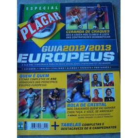 Revista Placar Nº 1371a - Guia Europeus 2012/2013