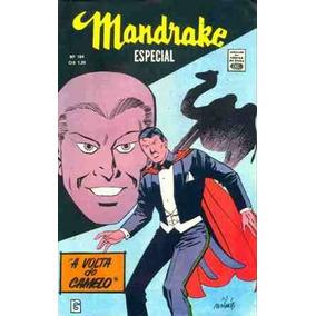 Mandrake 184 (rge-1971)-com 66 Pgs Em Cores-quase Banca