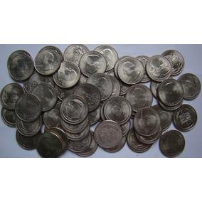 40 Quarenta Moedas 1 Quarter Dólares Americanos Aleatórias