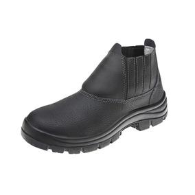 Calçado Masculino De Proteção Frentista Botina 11sfb48 Bp