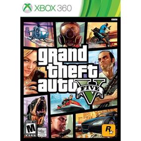 Grand Theft Auto V Gta 5 Mídia Física Xbox 360