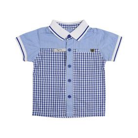 dab434d7fb Camisa Polo Azul Tigor T.tigre Baby 80202596