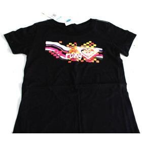 Roxy Ultima T-shirt Niña Playera Algodon Roxy Original