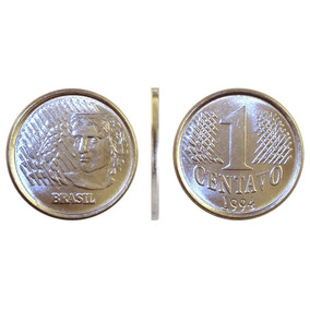 Moeda De 1 Centavo Real - 1994