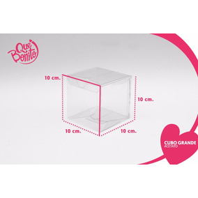 Cajitas Transparentes Acetato Recuerdos Dulces Bodas #10