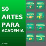 Artes Para Academia Para Redes Sociais +um Mês De Automação