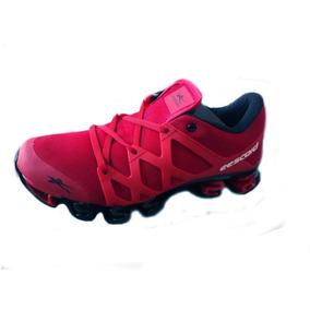 Tenis Eescord Para Caballero Color Rojo/rojo Mod. 2885 #7