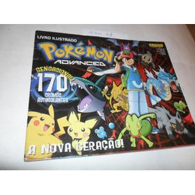 Álbum Pokémon Advanced - Panini - Ler Anúncio - A87