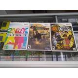 Juegos Usados Wii 30 Cada Uno 2 Por 50mil