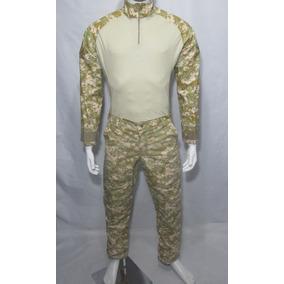 Calça E Camisa Combat Shirt Digital Cammo Bravo21