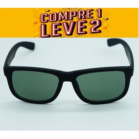 Óculos Feminino Quadrado Justin Espelhado Preto Polarizado · 7 cores. R  120 83584da605