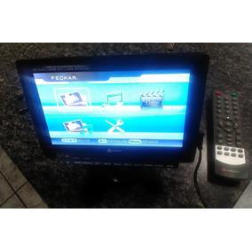 Tv Portátil Mox,tela 7 Lcd,entrada Usb,sd,com Controle!