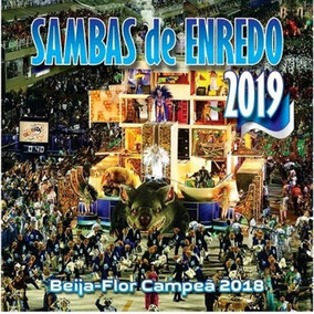 Sambas De Enredo 2019 - Baija-flor Campeã 2018 - Cd