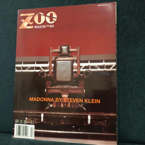 Madonna Revista Zoo Magazine Rara (vinil Cd K7)