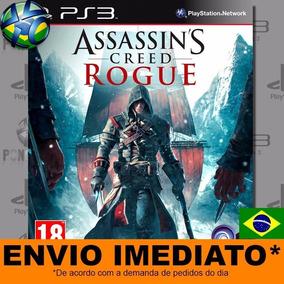 Jogo Assassins Creed Rogue Ps3 Digital Psn Dublado Português